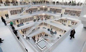 Eun Young Yi's new Stuttgart City Library could kill off the eBook