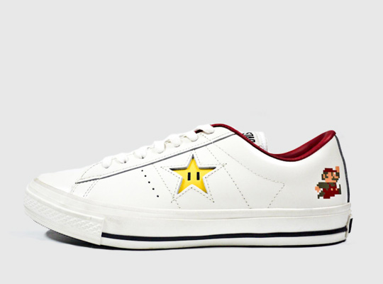 Converse One Star Super Mario Bros combines geek and retro style