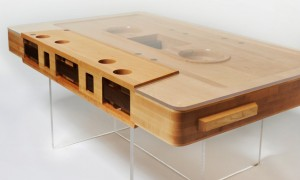 Jeff Skierka's Mixtape coffee table is the perfect furniture for kids of the 80s