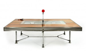 If you're going to make a ping pong table, you might as well do it right