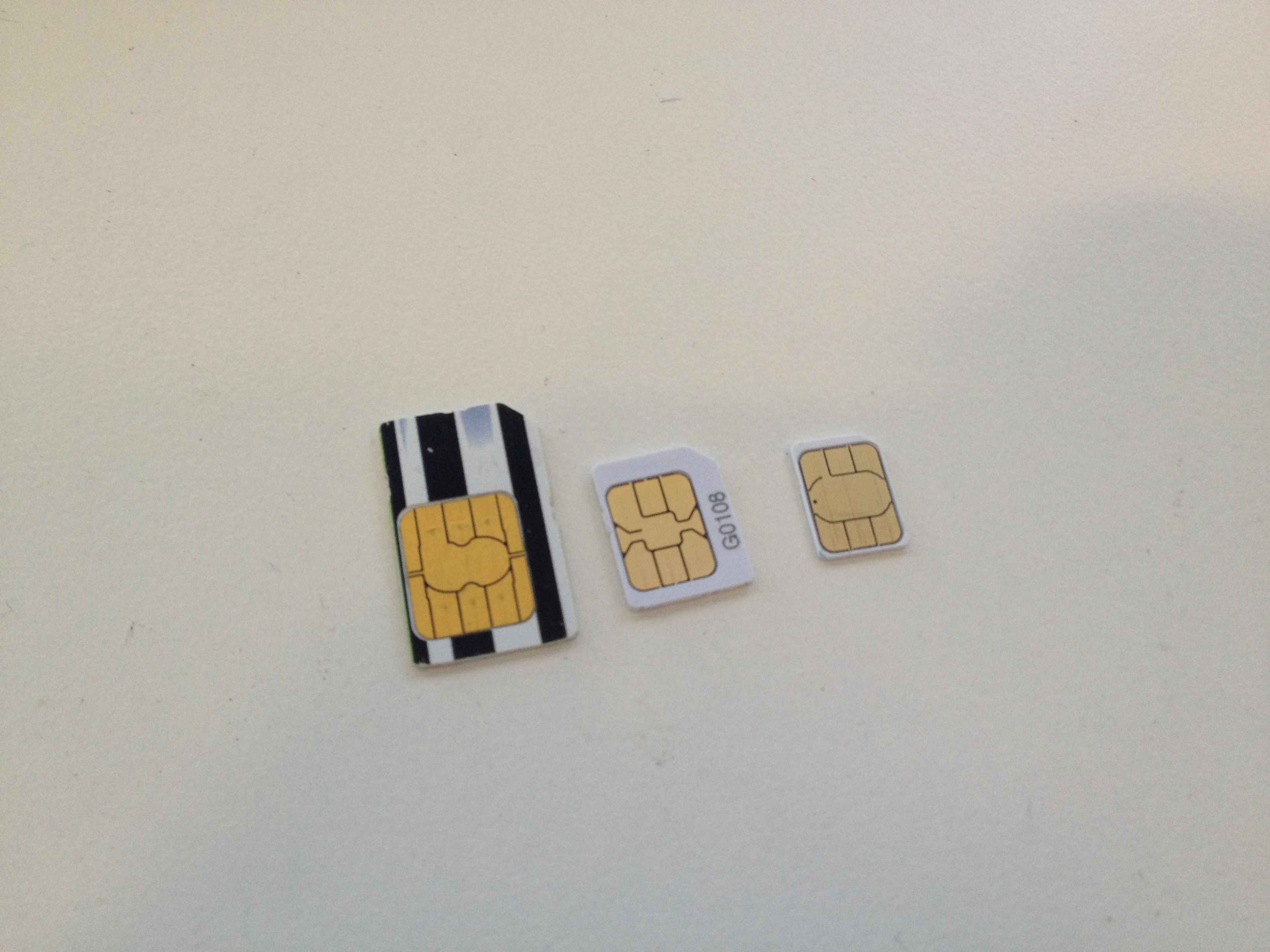 Which SIM card size fits your Apple device? – EFTM