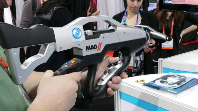 The G-Mate MAG II Controller at CES