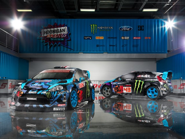 Hoonigan Racing Dvision Ken Block Ford Fiesta