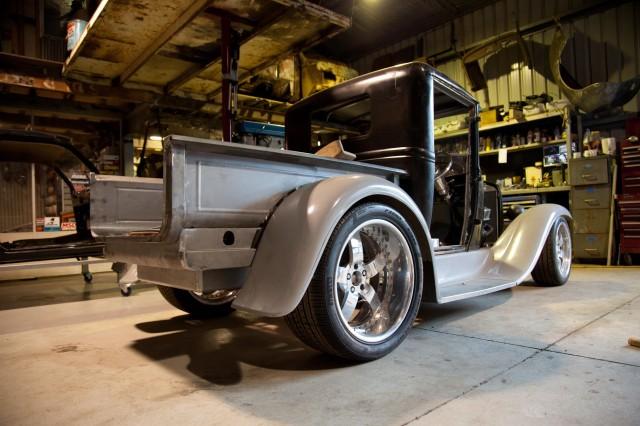 Jack Daniels Model Ford pick up