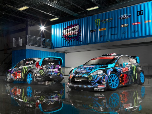 Ken Block Ford Fiesta Hoonigan Racing Dvision