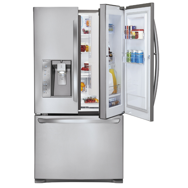 LG Fridge with Dual Access Door System