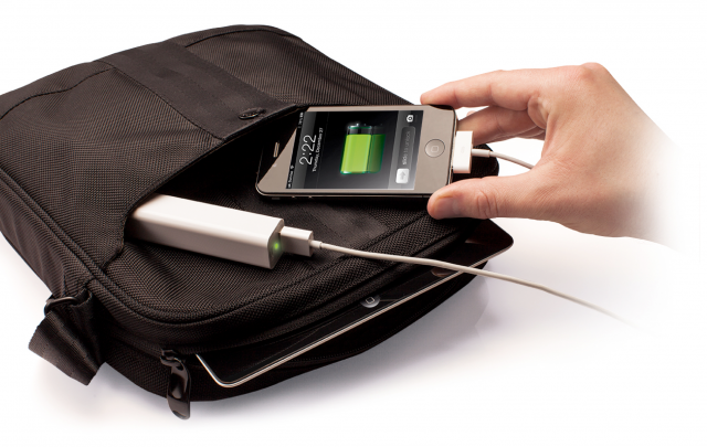 Magic Juice - Portable backup power for your smartphone - wirelessly charged