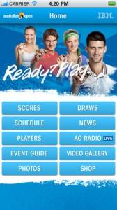 Australian Open official app