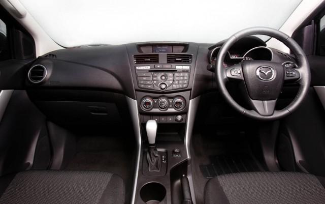 Inside the Mazda BT-50