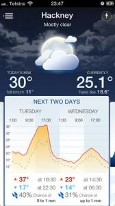 Pocket Weather App