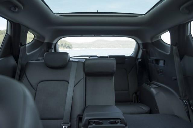 Inside the Hyundai Santa Fe Highlander