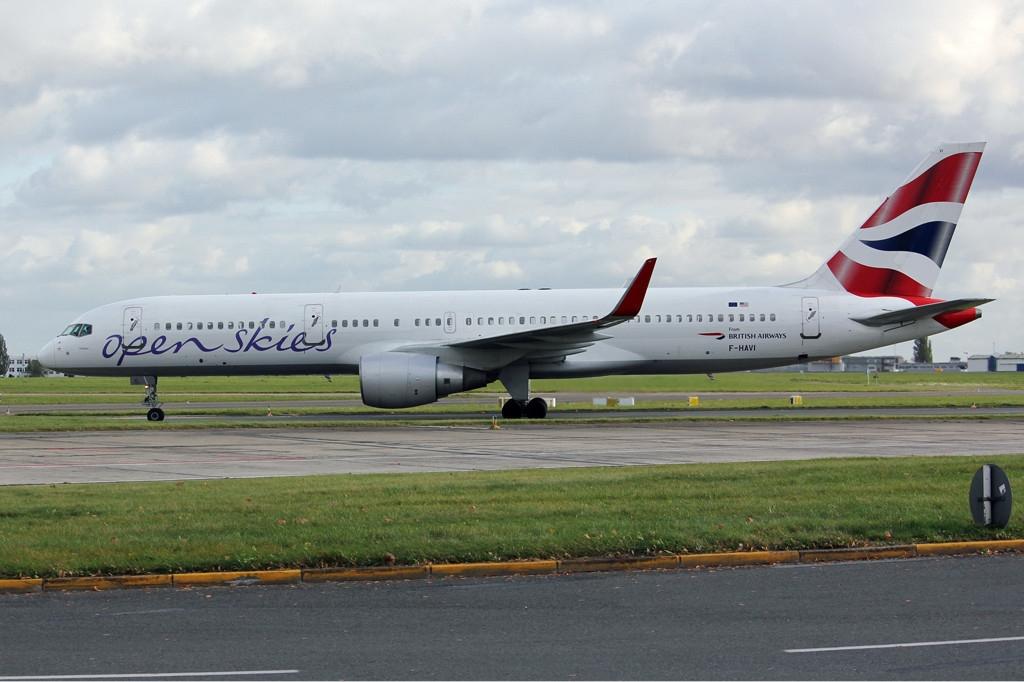 Open Skies Boeing 757 187 Eftm