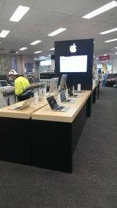 Harvey Norman Balgowlah - Apple Computer Display