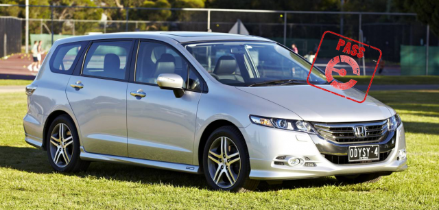 Honda Odyssey earns a PASS stamp from EFTM