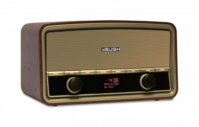Bush Heritage Retro Digital Radio with Bluetooth streaming