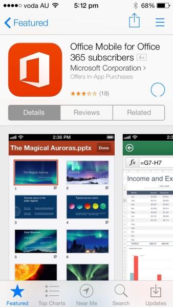iOS7 - App Store