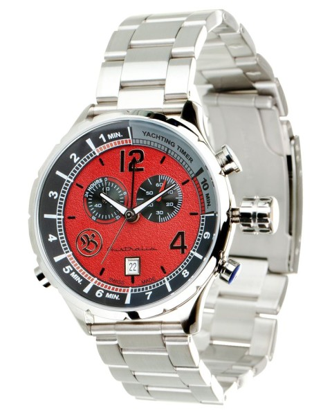 "Bausele Watches - Red Earth ""Yachting"""