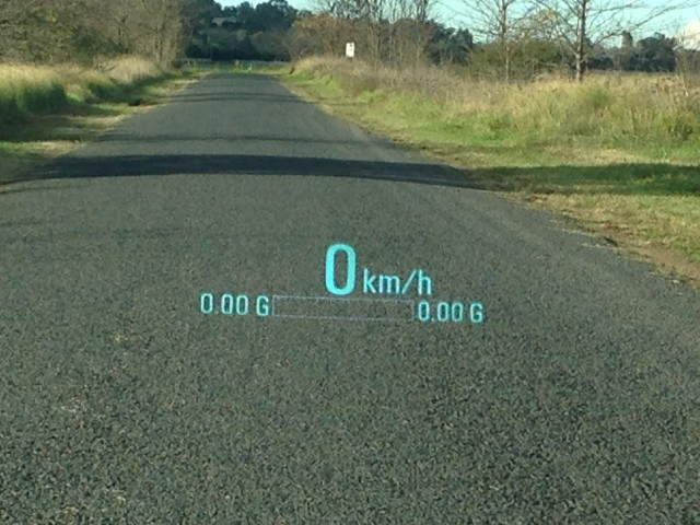 VF Commodore - (Calais V) - Head up display