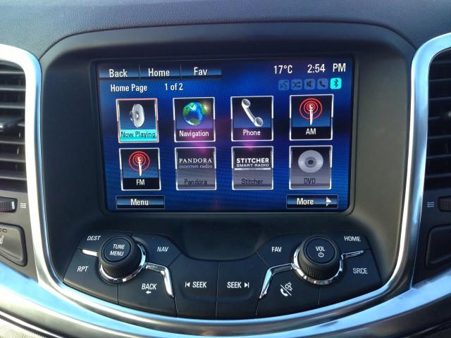 VF Commodore - (Calais V) - MyLink infotainment system