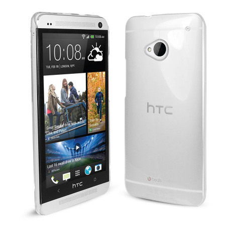 "HTC One FlexiShield - the perfect ""cover"" for your HTC One"