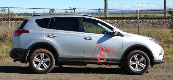 Toyota Rav 4  - Earns the EFTM Credit stamp!