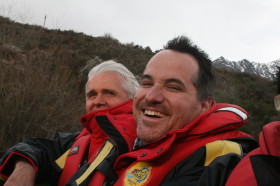 Jet-Boating with Vodafone CEO Bill Morrow - You'd want to put that on Facebook right?  Think of the roaming!