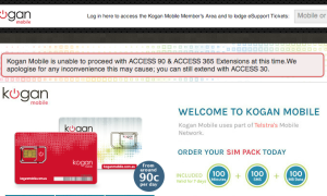 Kogan Mobile withdraws 90 day and 365 day recharge offers as ispONE and Telstra dispute continues