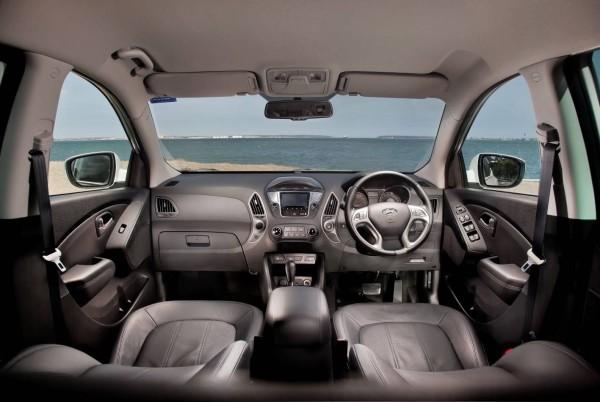 Inside the Hyundai ix35