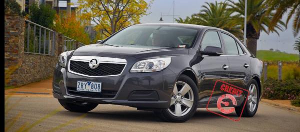 The Holden Malibu earns the EFTM Credit Rubber Stamp