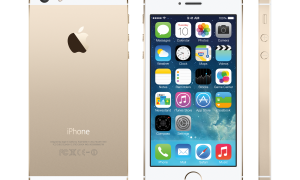 "Apple iPhone 5S in ""Gold"""