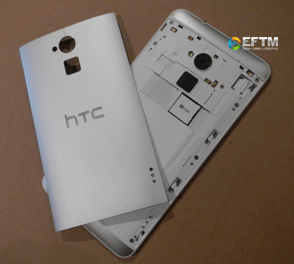 HTC One Max with removable cover