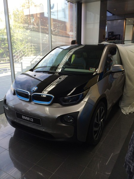 The first BMW i3 in Australia revealed at BMW headquarters