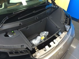"Storage under the ""bonnet"""