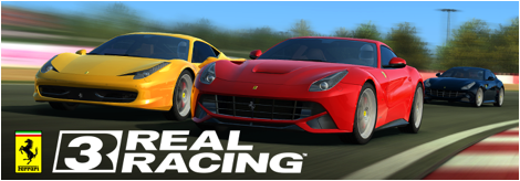 Real Racing 3 - now with Ferrari's