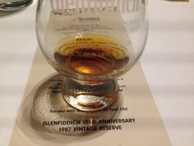 EFTM Samples the GLENFIDDICH ANNIVERSARY VINTAGE