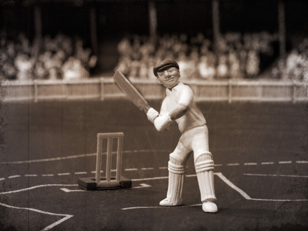 """Sir Don Bradman re-created in """"Test Match"""" form"""