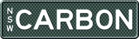 MyPlates CARBON FIBRE design