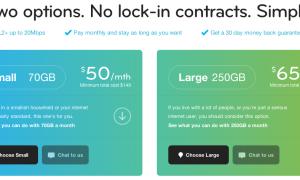 Belong ADSL price plans