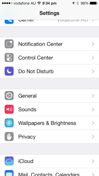 Apple iOS Restrictions: GENERAL