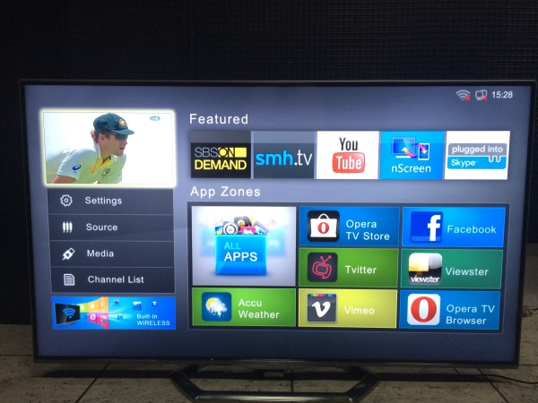 TCL's Smart TV interface