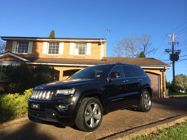 JEEP Grand Cherokee (Overland Edition shown)