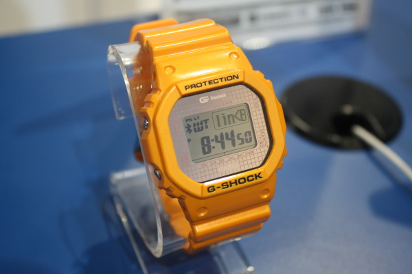 Slim line G-Shock with Bluetooth