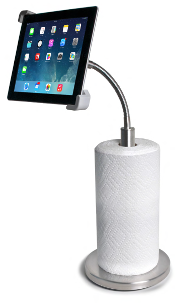 iPad Kitchen Paper-roll