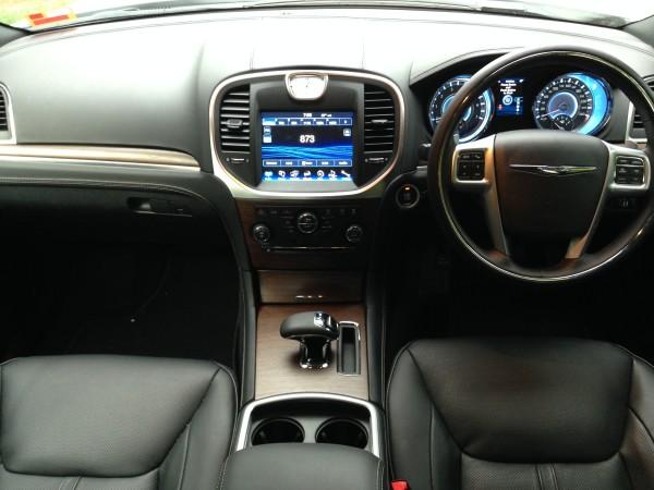 Inside the Chrysler 300C Luxury