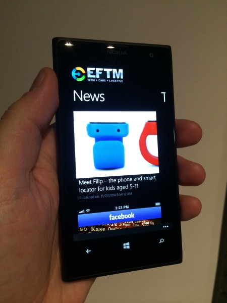 Check out EFTM Content on your Windows Phone