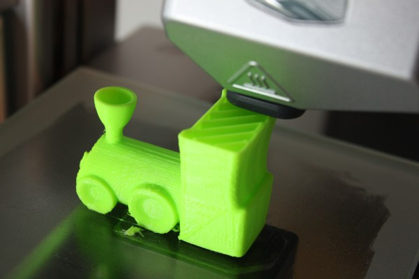 Printing a 3D Train - Cube 3D Printer