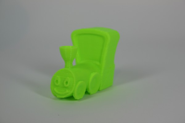 The end result - a 3D Printed Train
