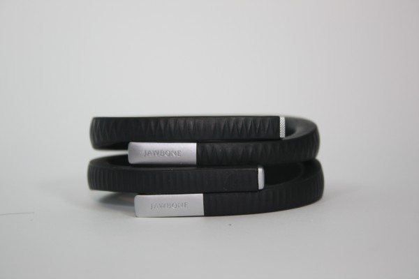 Jawbone Up compared to Jawbone Up 24 (Bottom)