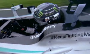 This is the best Formula 1 Video you have ever seen – ride along with Nico Rosberg