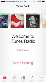 Your welcome to iTunes Radio - Look for the RADIO option bottom left of your MUSIC app